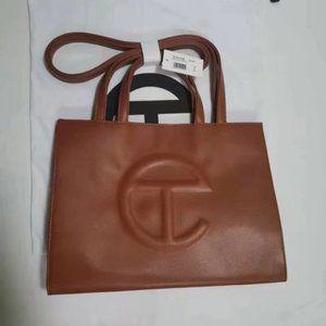 Telfar Medium Coffee Brown Shopping Bag